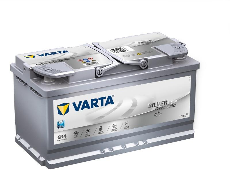 Varta AGM 95AH START-STOP 595901085 G14
