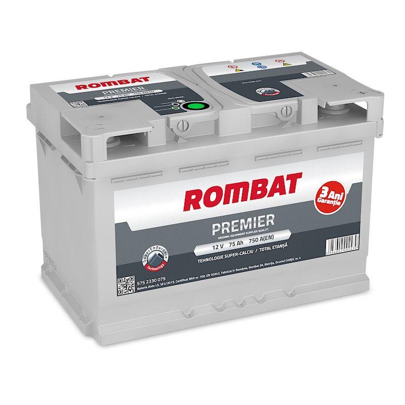 Rombat Premier 75Ah 750A 12V